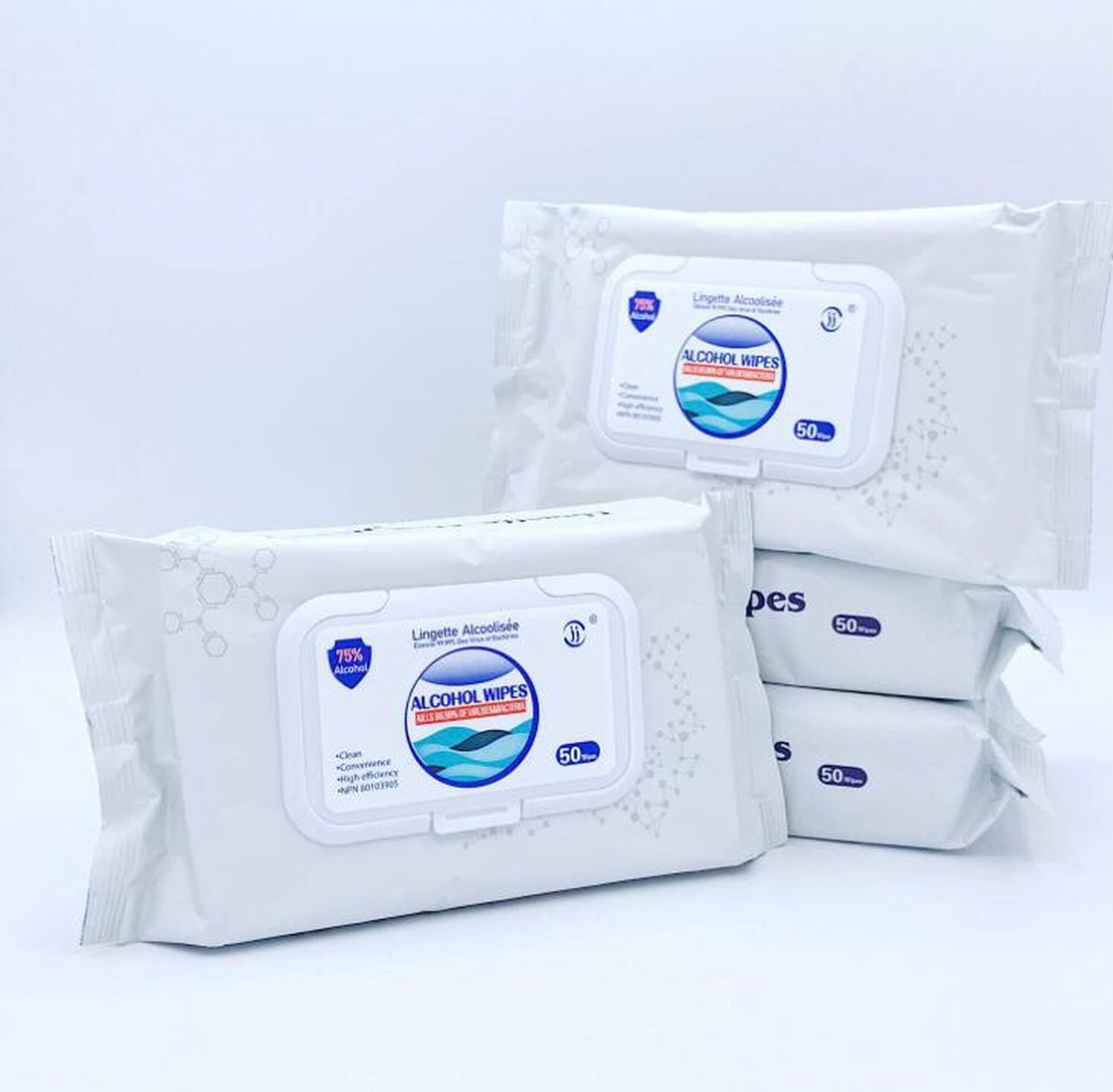Alcohol Disinfectant Wet Wipes 75%