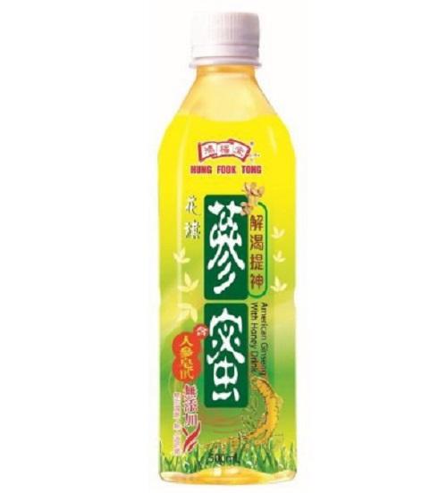HFT Ginseng Honey Drink (500ml X 24)
