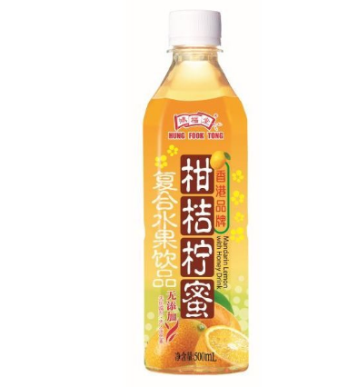 HFT Mandarin Lemon With Honey Drink (500ml X 24)