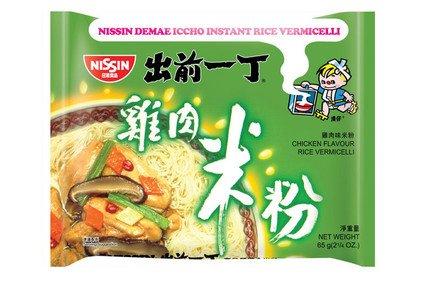 Nissin Rice Vermicelli: Chicken (Box 65 gm X 30)