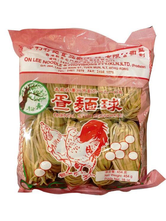 ON Lee Thin Noodles (Bundle of 6, 16oz)