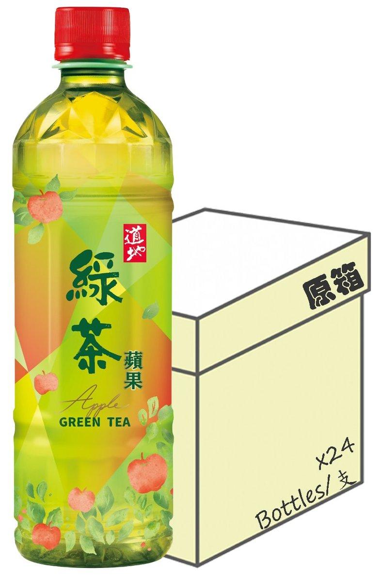 Tao Ti: Apple Green Tea Drink (500ml X 24)